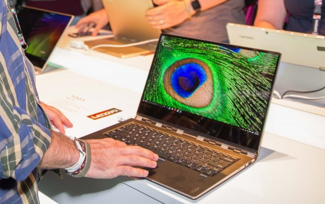 Intel Core i7 'Kaby Lake' Lenovo Yoga 910 laptop