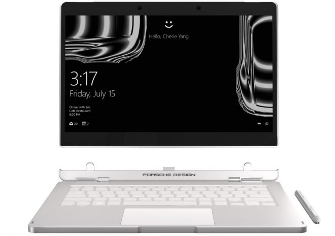 Porsche Design Book One - Windows 10 Pro 2-In-1 Tablet