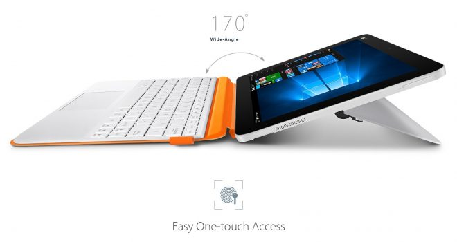 White Orange Asus Transformer Mini T102HA