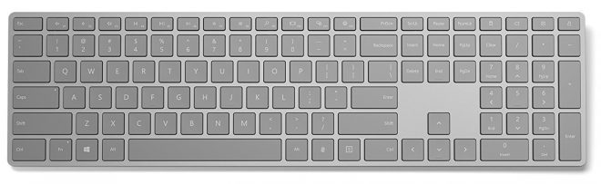 Microsoft Modern Keyboard with Fingerprint ID Released