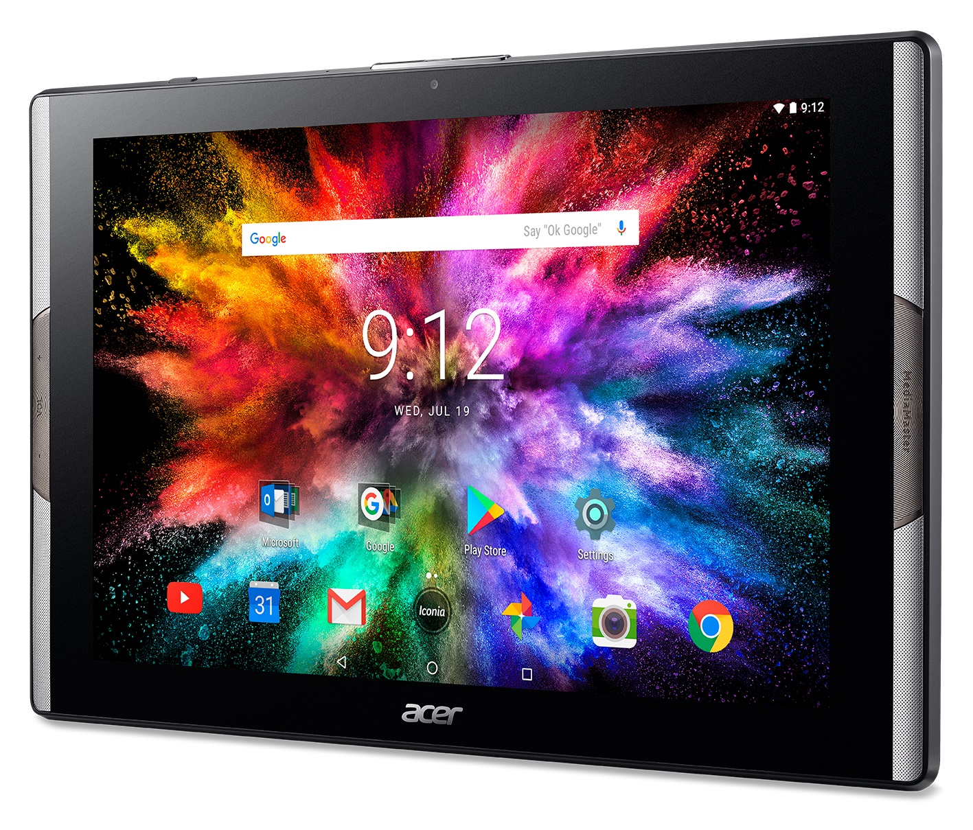 10 1 inch 4gb ram android 7 0 tablet acer iconia tab 10. Black Bedroom Furniture Sets. Home Design Ideas
