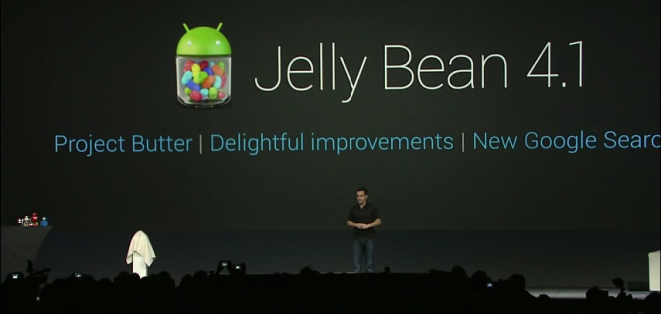 Android 4.1 Jelly Bean presentation