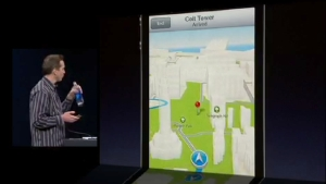 Apple Maps Turn-by-Turn Navigation Demo