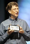 Gates unveils tablet