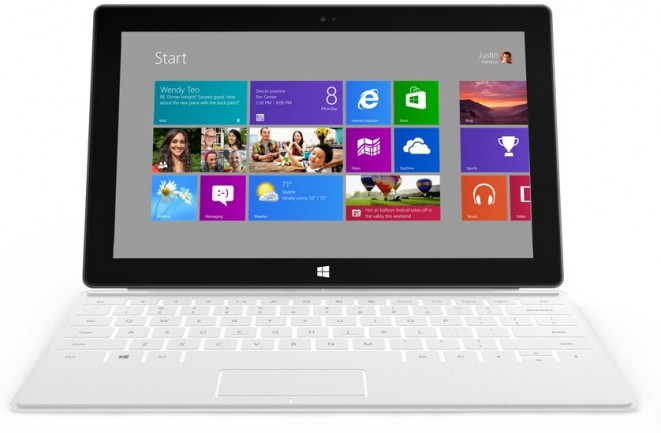 Microsoft Surface in White
