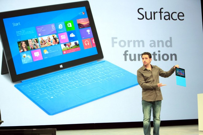 Panos Panay, General Manager of Microsoft Surface