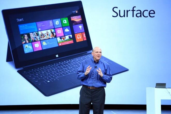 Steve Ballmer Introducing Surface
