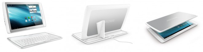 Archos 101 XS with Coverboard Keyboard