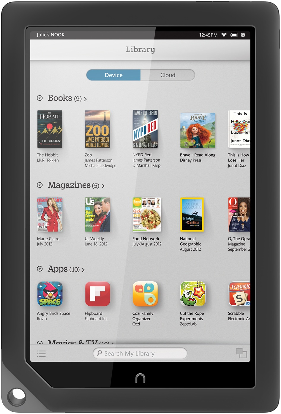 Barnes Amp Noble Nook Hd 9 Inch Android Tablet On Sale