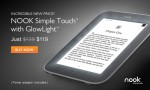 NOOK Simple Touch with Glowlight on Sale
