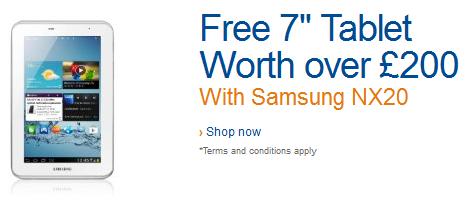 Samsung Galaxy Tab 2 7.0 UK Deal
