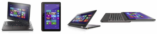 Windows 8 Ultrabooks and Tablets