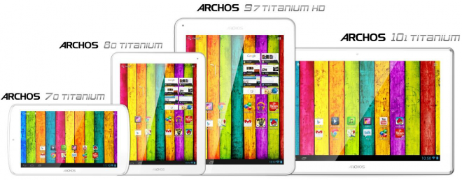 Archos Titanium Range