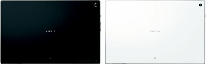 Sony Xperia Tablet Z back