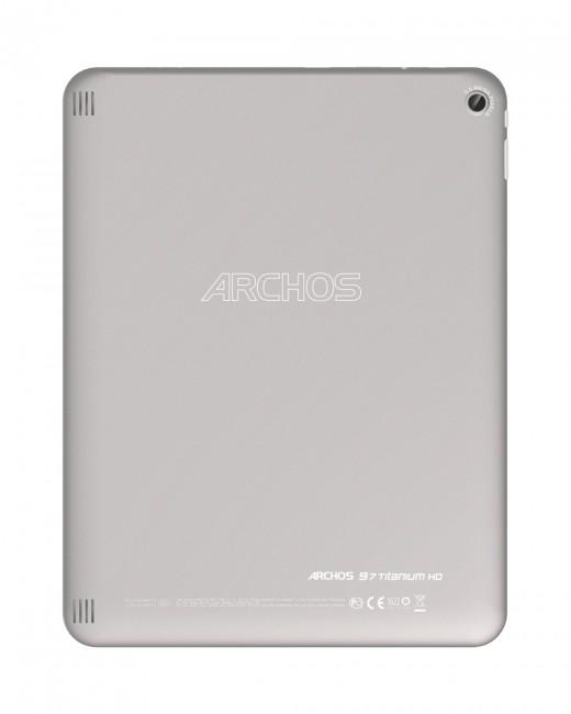Archos 97 Titanium HD rear