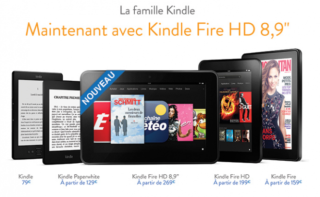 Kindle Fire HD 8.9 Price Cut coincides with its release outside of US