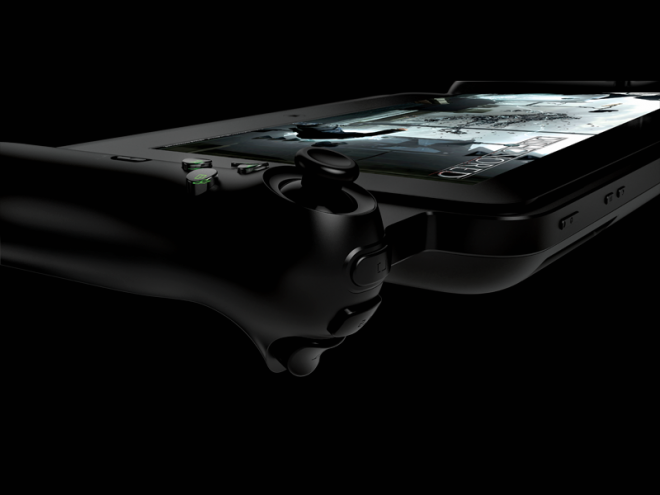 Razer Edge Gamepad Controller, side view