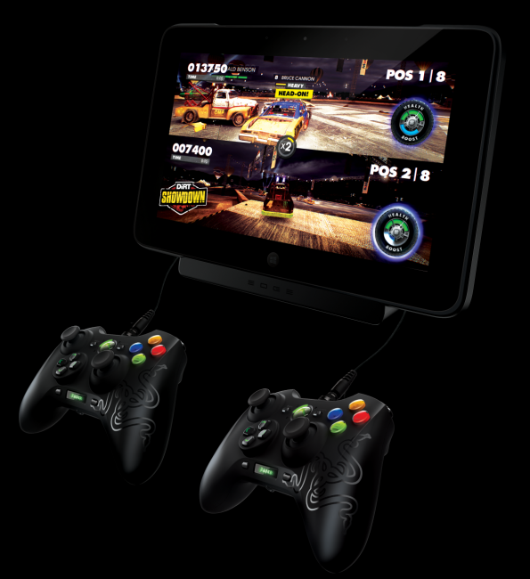 Razer Edge Home Console with Multiple Controllers