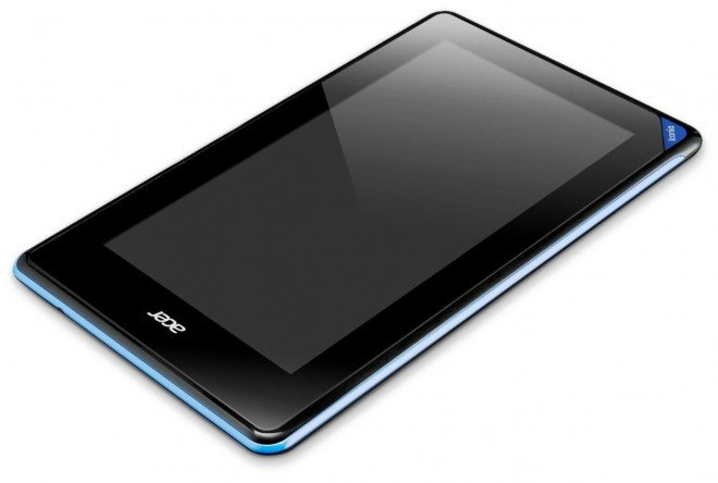Acer Iconia B1 turned off