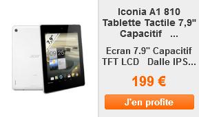 Iconia A1 810 ad