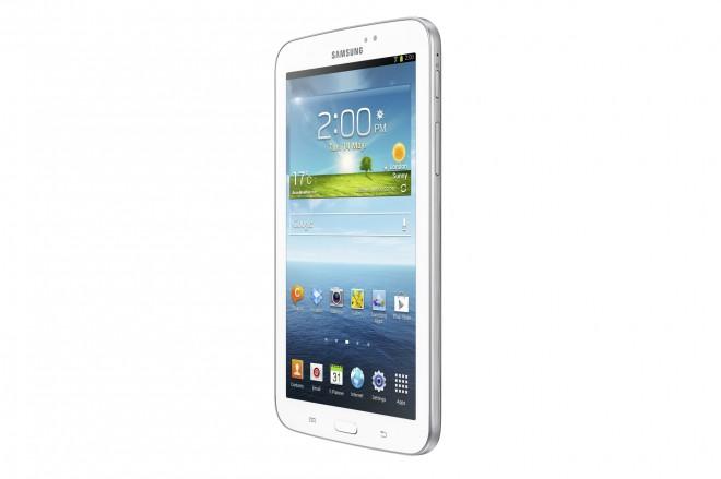 Samsung Galaxy Tab 3 7.0 Wi-Fi - tilt view