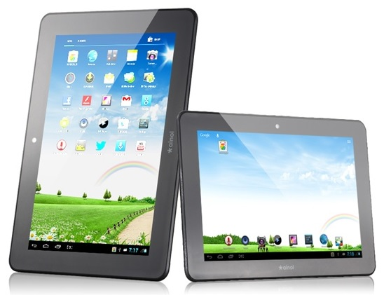 The Ainol NOVO7 budget tablet