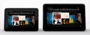 Current Kindle Fire HD 7 and 8.9