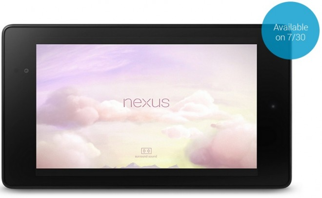 New Nexus 7 Pre-Order