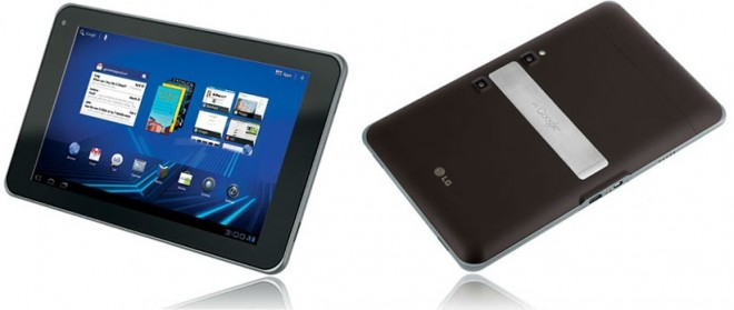 LG tablet Optimus Pad V900 - LG's first tablet computer