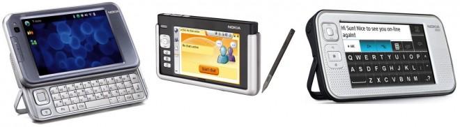 Old Nokia Internet Tablets