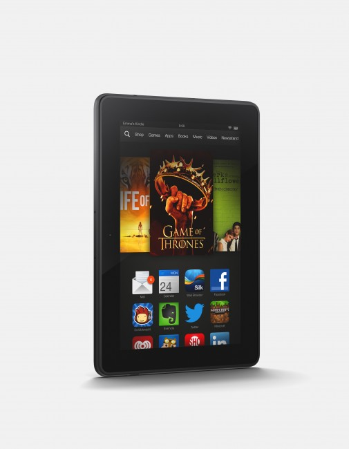 Kindle Fire HDX 7 side