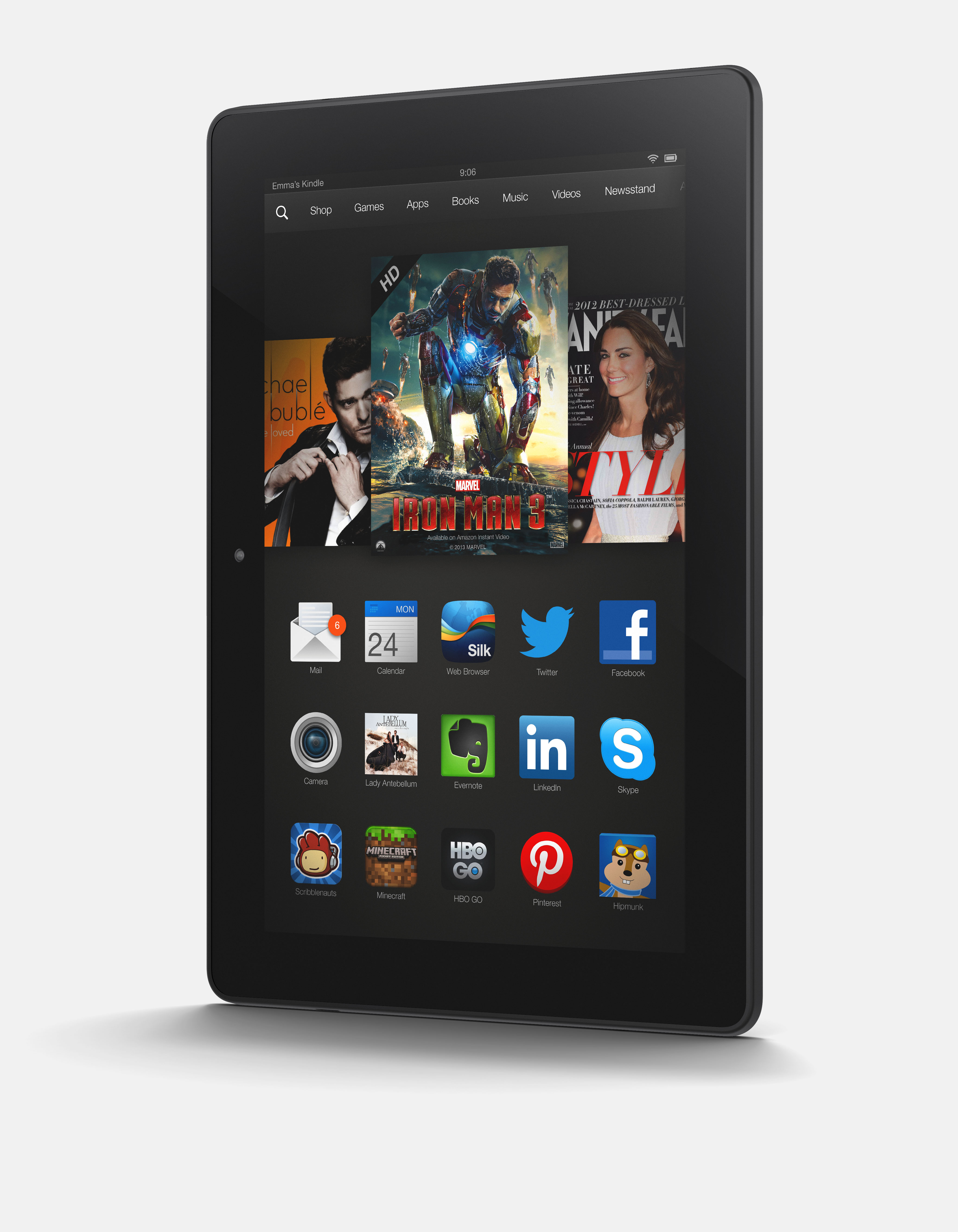 Amazon Kindle Fire HDX - World's Fastest Tablets - photo#38