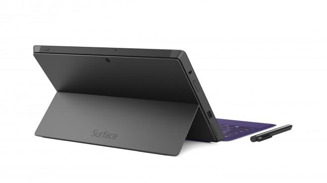 Microsoft Surface Pro 2 - kickstand back