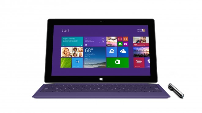 Microsoft Surface Pro 2 - front