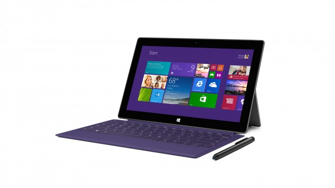 Microsoft Surface Pro 2 - side