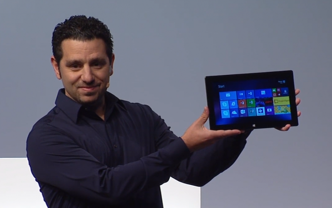 Panos Panay Launches Microsoft Surface 2
