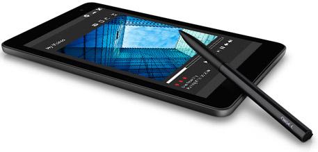 Dell Venue 8 Pro with stylus