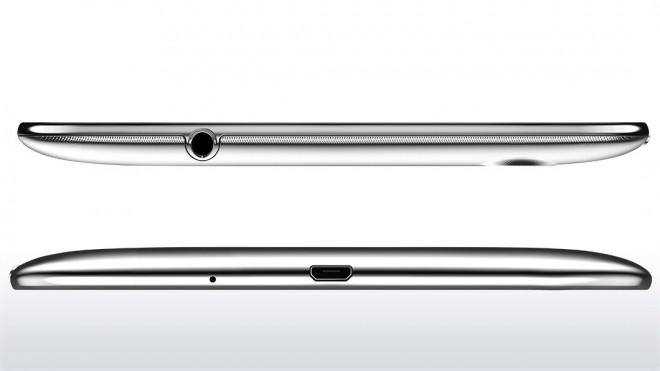 Lenovo IdeaTab S5000 sides