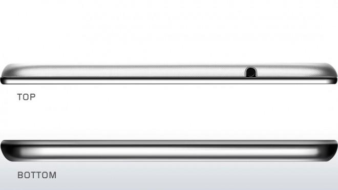 Lenovo Miix 2 top and bottom
