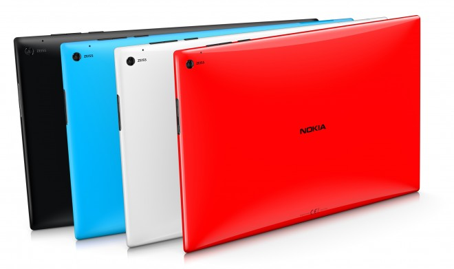 Nokia Lumia 2520 color options