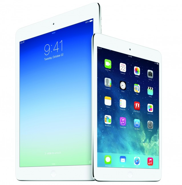 iPad Air and iPad mini 2