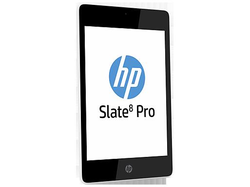 HP Slate 8 Pro tilted
