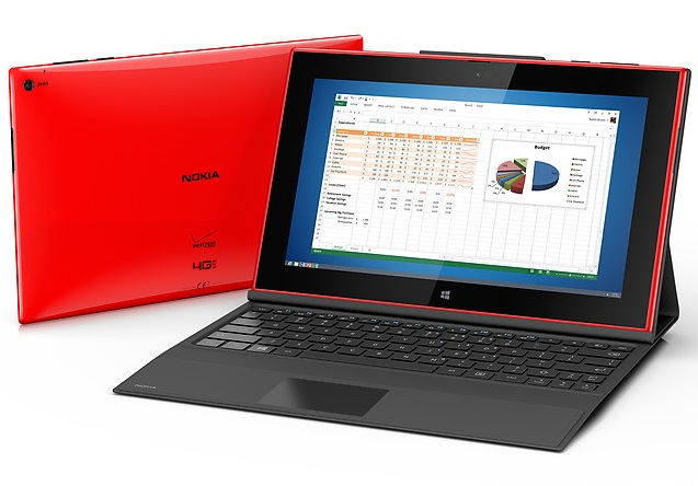 Nokia Lumia 2520 with Office
