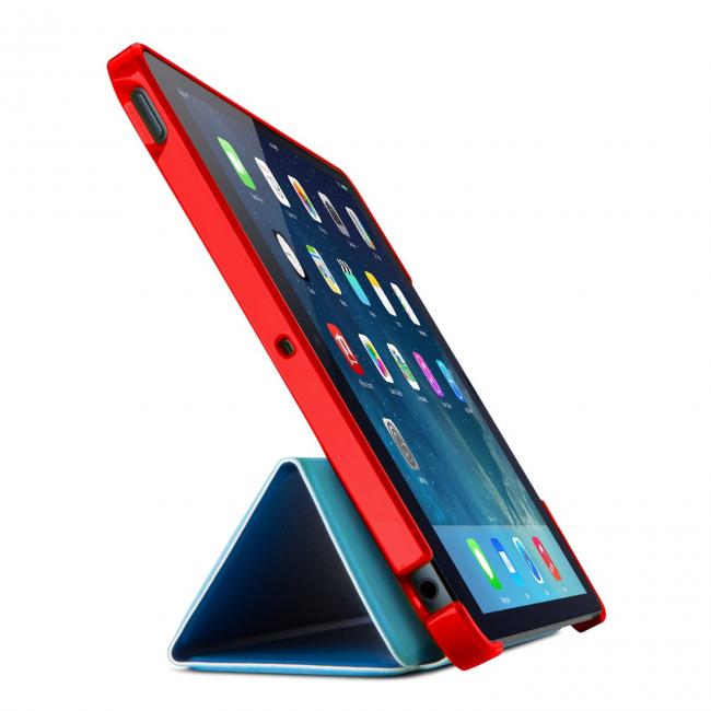 Red Belkin Lego Case for iPad mini
