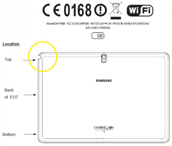 Samsung Galaxy Note 12.2 - SM-P900