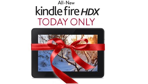 Amzon Kindle Fire HDX 7 Cyber Monday sale