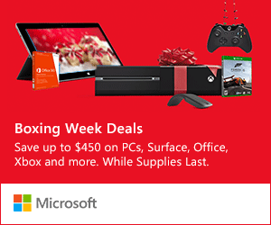Boxing Day Canada 2013 – Computers and Tablets