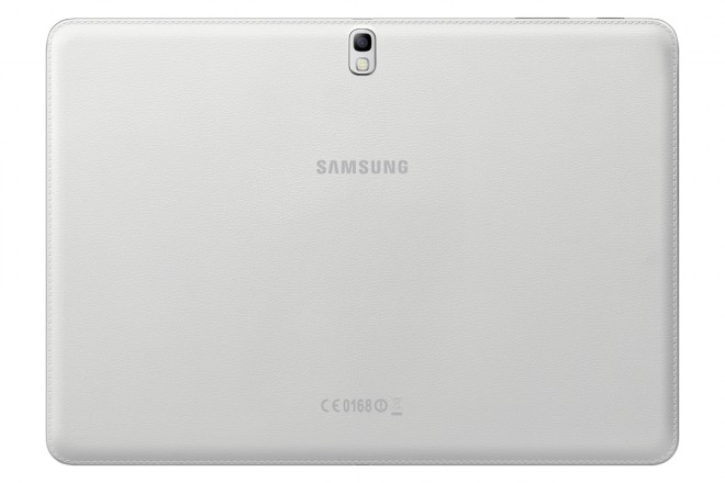Samsung Galaxy Tab PRO 10.1 - rear leather bezel camera with LED flash