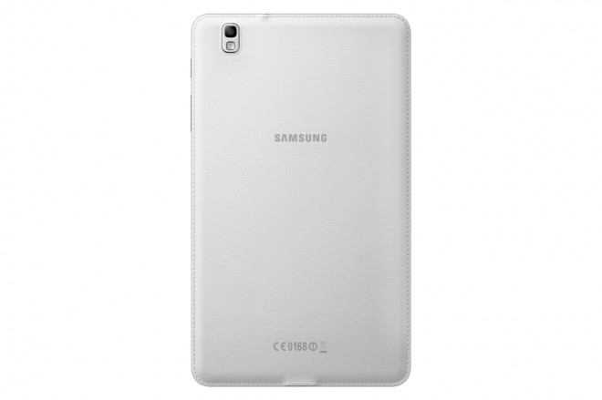 Samsung Galaxy TabPRO 8.4 white leather back