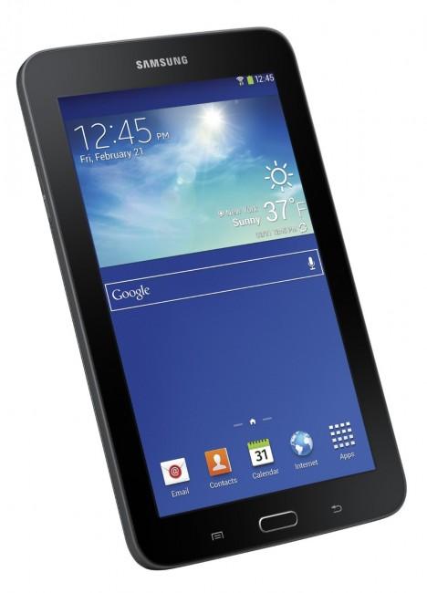 Samsung Galaxy Tab 3 Lite in black